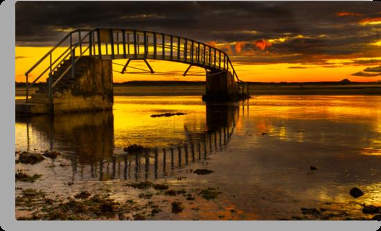 Belhaven Sunset by Don Alexander Lumsden (Echo7)
