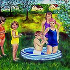 Painted Childhood by hickerson