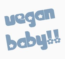 Vegan Baby in Blue by veganese