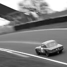 Charging Lotus Elan - Oulton Park by David Jones