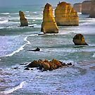The Twelve Apostles, Victoria, Australia by Ali Brown