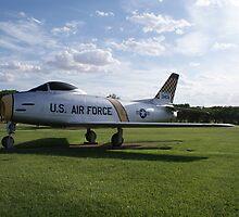 """F-86H """"Sabre"""" by TxGimGim"""