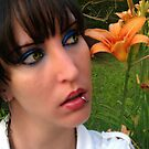 Huh? Whispers of a Day Lily Nature by Edibl3leper