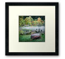 Loch Ard - At the Dock Framed Print