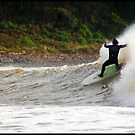 Surfing The Don by Damon Colbeck