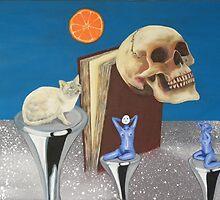 Spaceflight. 'Still in the silent Zone' frame 6 Nelly's artwork. by albutross
