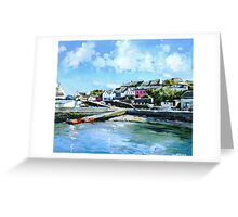 Baltimore Harbour in County Cork, Ireland Greeting Card