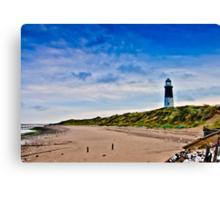 Spurn Point Lighthouse Canvas Print