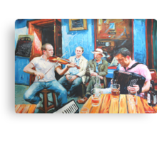 The Quay Players Canvas Print