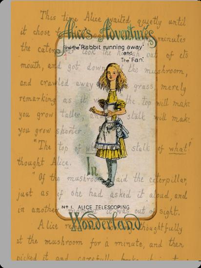 Alice Telescoping by Sarah Vernon