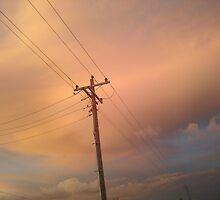 cotton candy sky by Stephani  Tryson