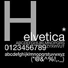 Helvetica Poster by Vinnhh