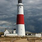 Portland Bill Lighthouse by Mark Hughes