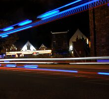 The bright lights of Abbey Foregate! by Sheila Laurens