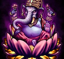 Ganesha Bliss by Javier Antunez