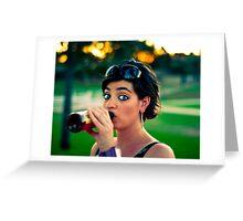 Park Drinkin' Greeting Card