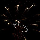 4th of July Fireworks II by Eileen Brymer