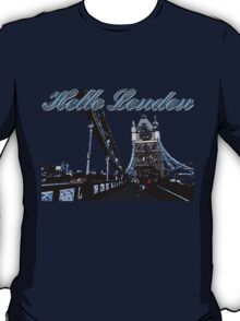 Beautiful London Tower bridge T-Shirt
