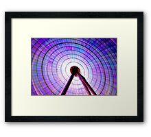 Colour Wheel: Ferris Wheel Framed Print