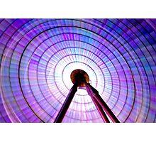 Colour Wheel: Ferris Wheel Photographic Print