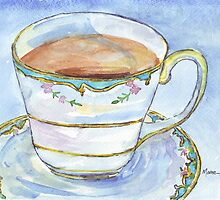 Come to tea! by Maree  Clarkson
