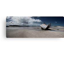 Boat on Donegal Shore, Ireland Canvas Print