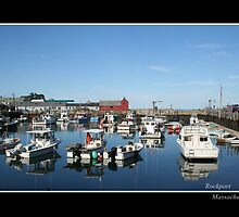 Rockport, Massachusetts fine art print by Linda Jackson