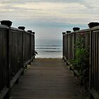 """ Walkway to Paradise - Old Orchard Beach, Maine "" by DeucePhotog"