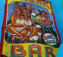 Poster for the Coney Island USA Freak Bar by SylviaS