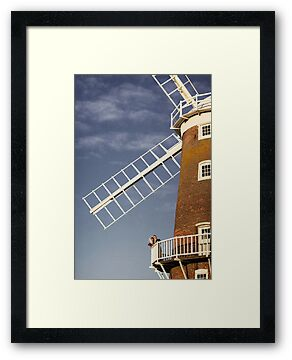 Cley Windmill - Love in the air by cleywindmill