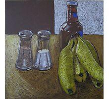 """Bananas and beer"" Photographic Print"