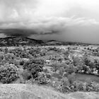 Storm Brewing Over Savanne Plate, Haiti by Kent Nickell