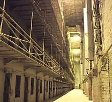 cell block, Ohio State Reformatory ~ Mansfield, Ohio by Hope A. Burger