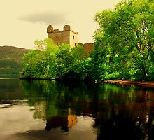 """URQUHART CASTLE""[loch ness] by snapitnc"