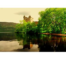 """URQUHART CASTLE""[loch ness] Photographic Print"