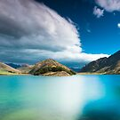  Moke Lake   - The Emerald Lake - by Jonathan Stacey