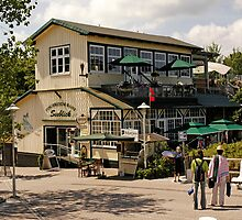 MVP89 Fischrestaurant, Prerow, Germany. by David A. L. Davies