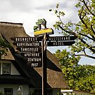 MVP85 Tourist sign post, Prerow, Germany. by David A. L. Davies