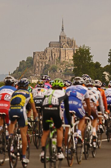 Mont Saint Michel - Tour de France by procycleimages