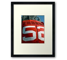 Seabat 52 RED! Framed Print