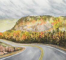 Hwy 17 Autume Glory by Rita Chisholm