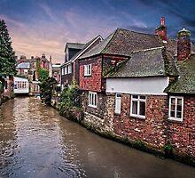 Canterbury Backwater by Geoff Carpenter