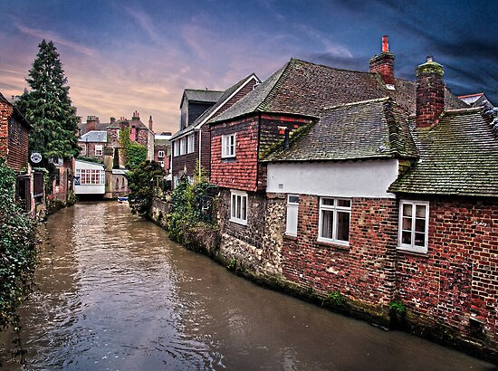 Canterbury Backwater by Geoff Carpenter