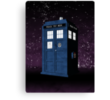 The Tardis' Secret Canvas Print
