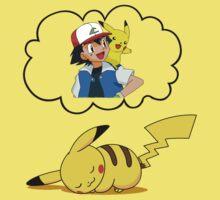 Dreaming Pikachu by CornrowJezus