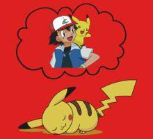 Dreaming Pikachu Kids Clothes