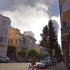 FOG IN SAN FRANCISCO 1 by Till  Baron von Grotthuss