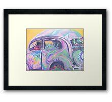 Flower Power (pastel) Framed Print