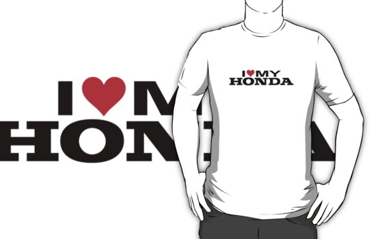 I Love My Honda by avdesigns