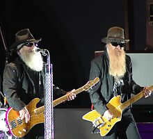 Dusty Hill & Billy Gibbons by Wviolet28